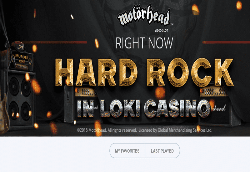 Loki Casino Home Page
