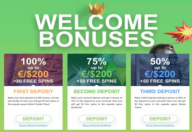 Loki Casino Promotion