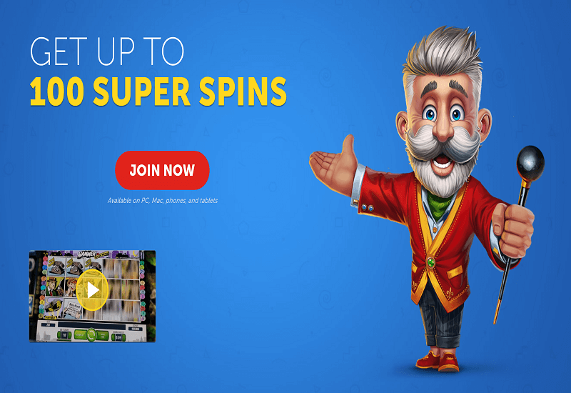 Lucky Louis Casino Home Page