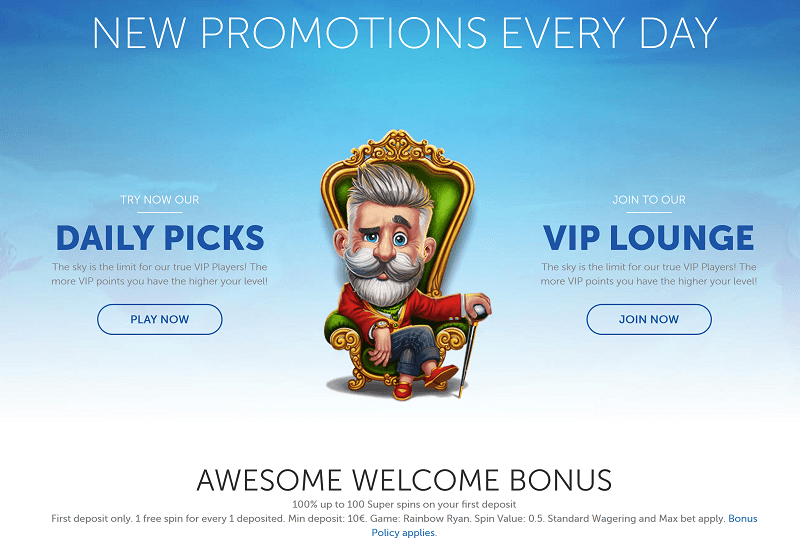 Lucky Louis Casino Promotion