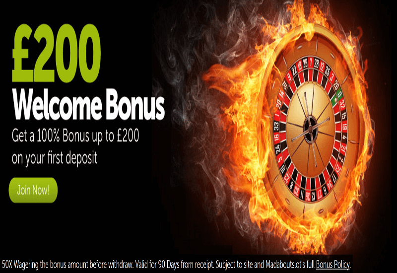 Mad About Slots Casino Promotion