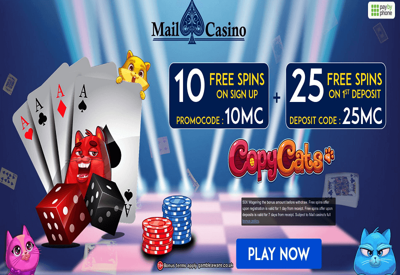 Mail Casino Promotion
