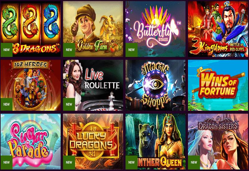 Malina Casino Video Slots