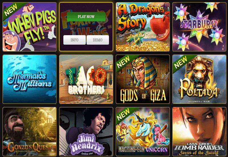 Millionaire Casino Video Slots