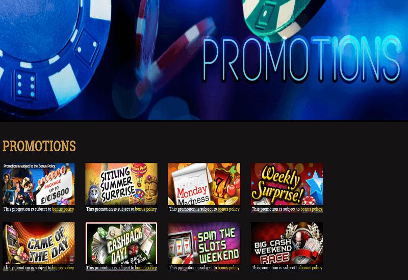 Millionaire Casino Promotion