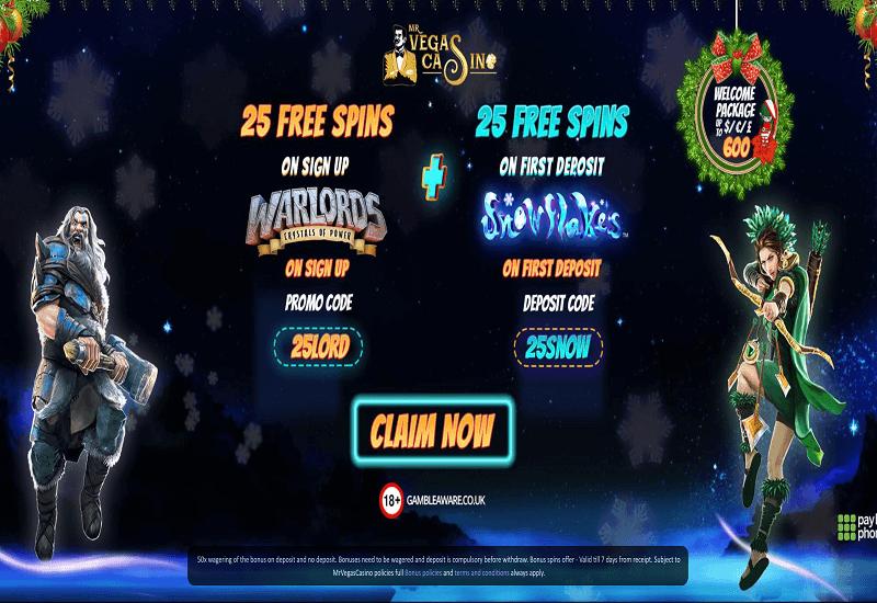 Mr.Vegas Casino Promotion
