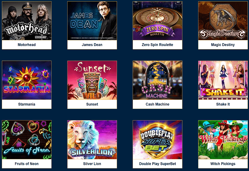 Lucky Bets Casino Video Slots