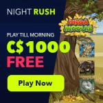 Night Rush Casino Bonus And  Review News