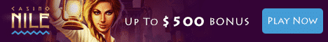 Casino Nile Review Bonus