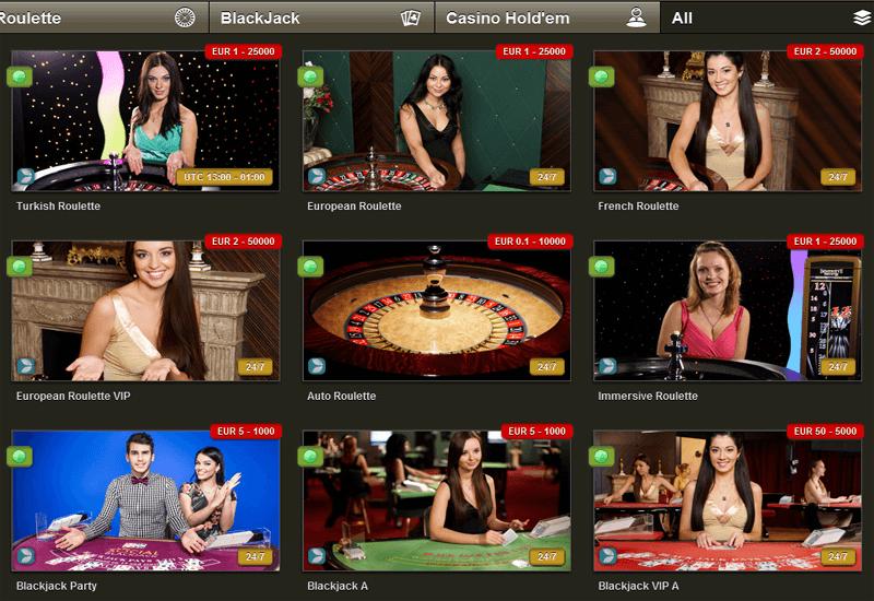 NoxWin Casino Live