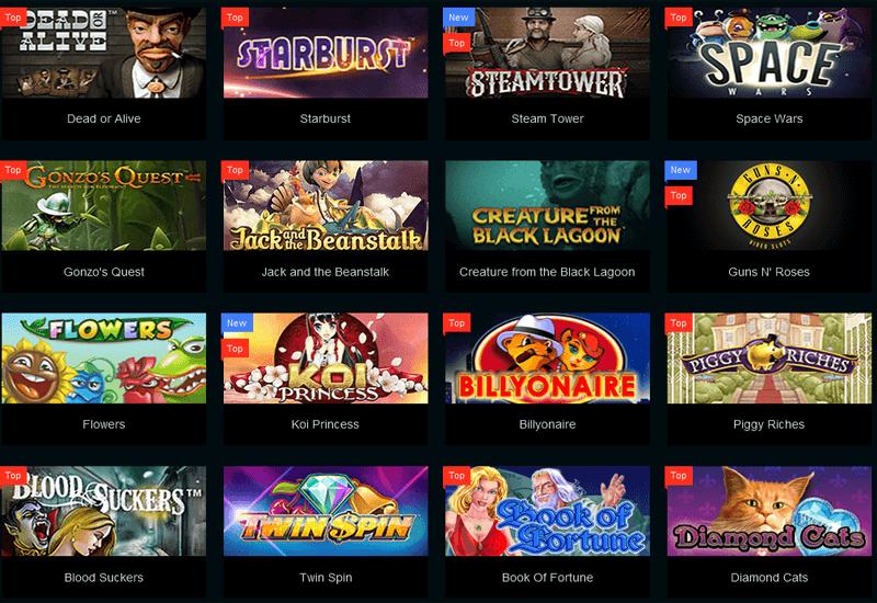 PlayAmo Casino Video Slots
