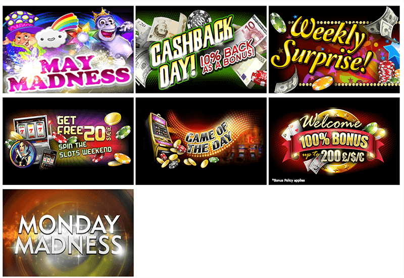 Play Casino Games Promotion