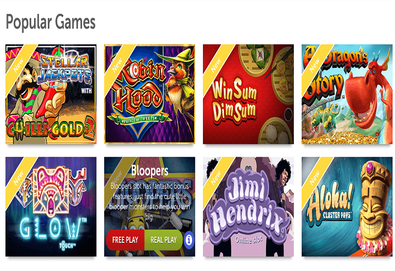 Play Casino Games Video Slots