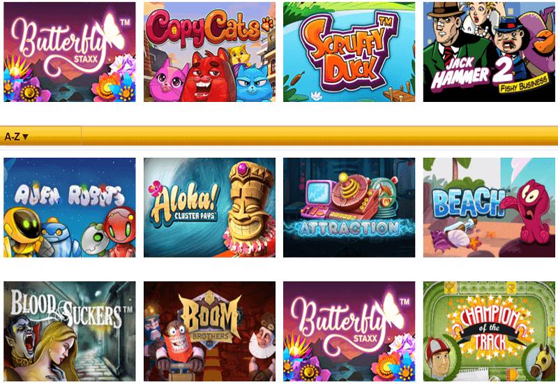 Play Sunny Casino Video Slots