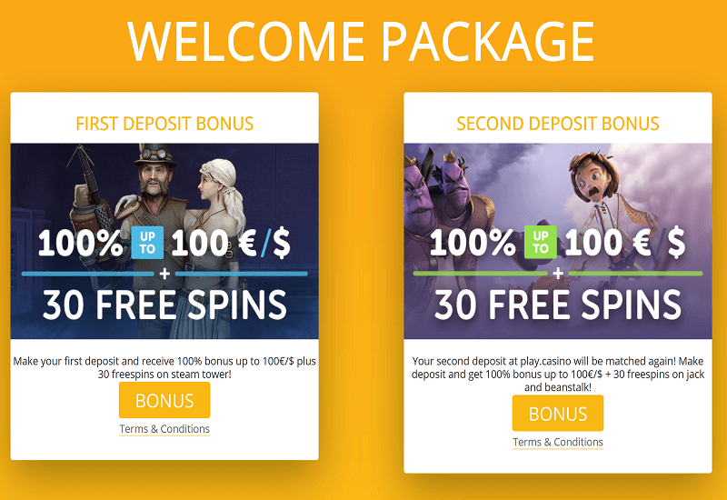 Play. Casino Promotion