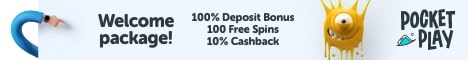 PocketPlay Casino Review Bonus