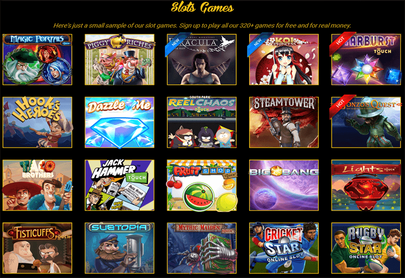 Pokies.com Casino Video Slots