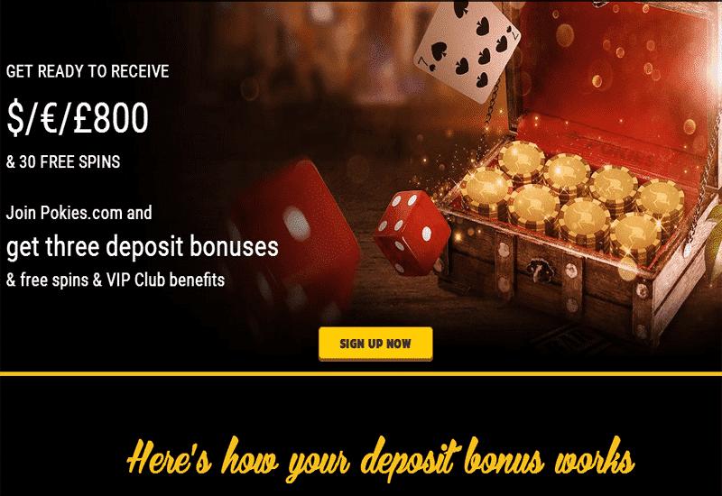 Pokies.com Casino Promotions