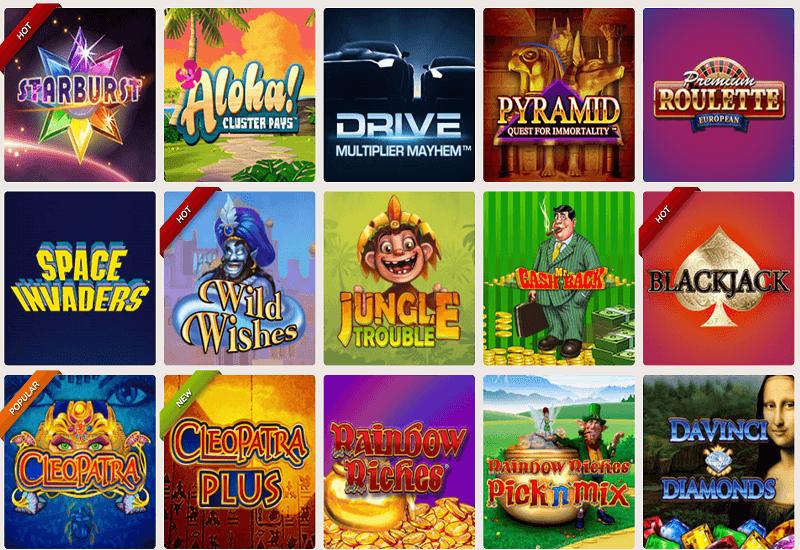 Power Spins Casino Video Slots