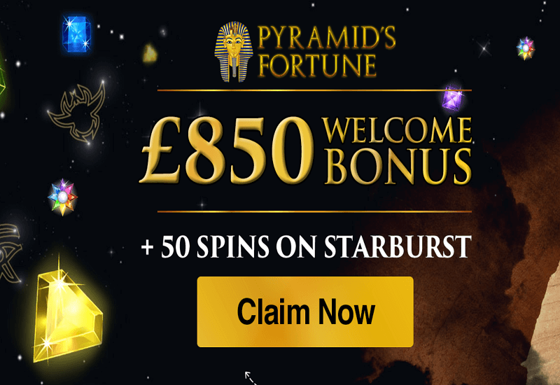 Pyramids Fortune Casino Promotion