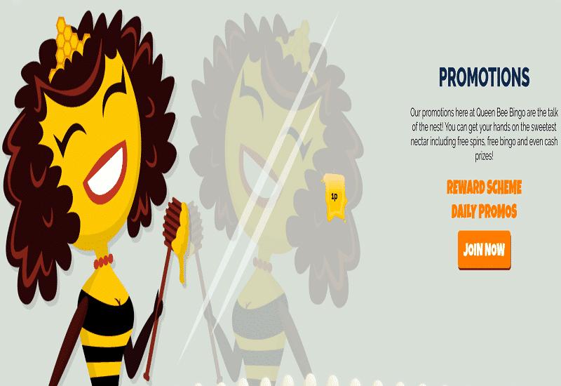 Queen Bee Casino Promotion