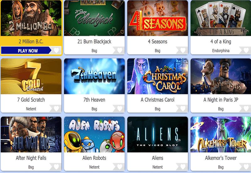 QueenSpin Casino Video Slots