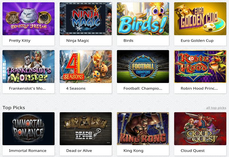 Red Star Casino Video Slots