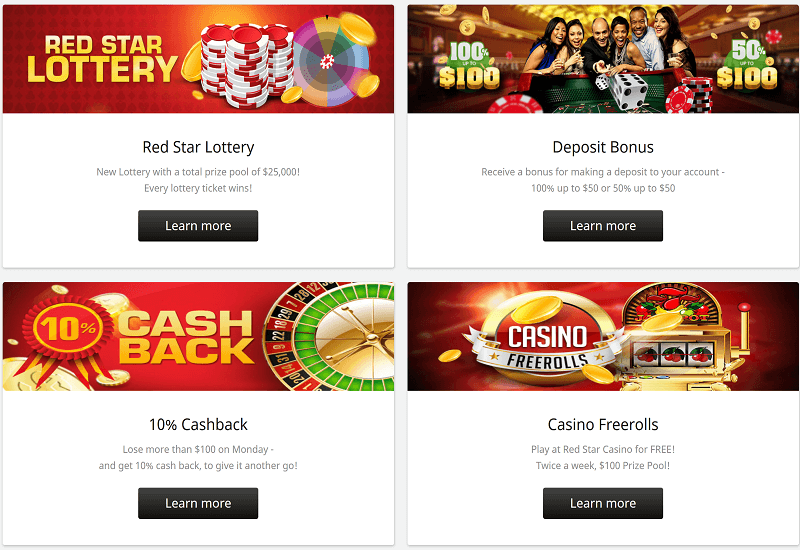 Red Star Casino Promotion