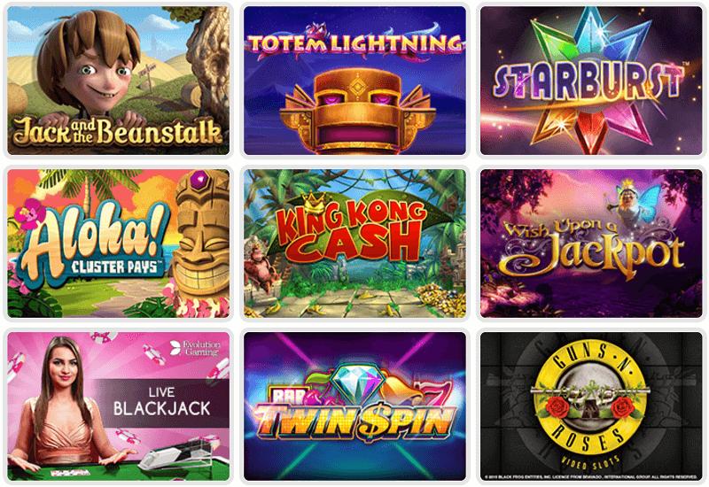Rosa Casino Video Slots