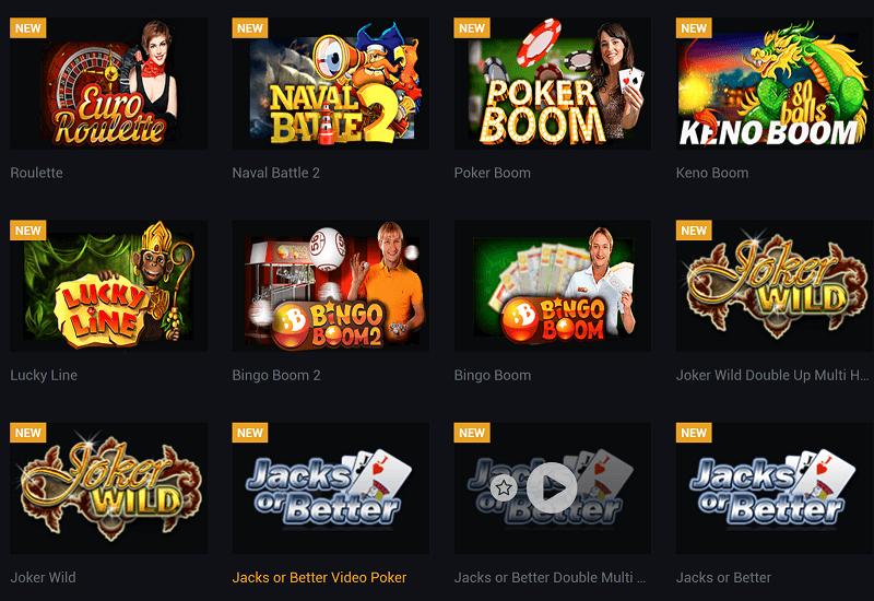Sekabet Casino Video Slots