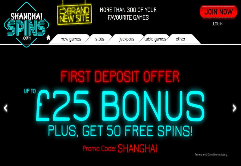 Island Jackpots Casino Home Page