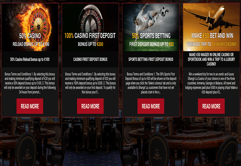 Shangri La Casino Promotion