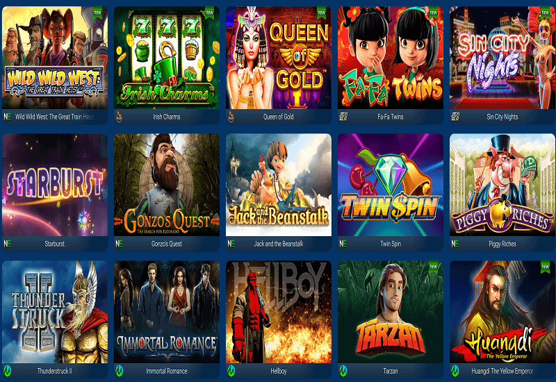 Sin City Casino Video Slots