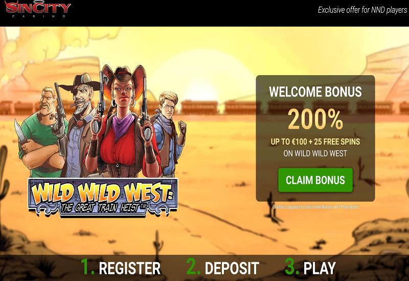 Sin City Casino Promotion
