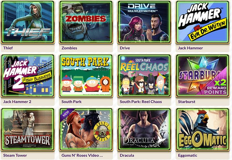 Slot Joint Casino Video Slots