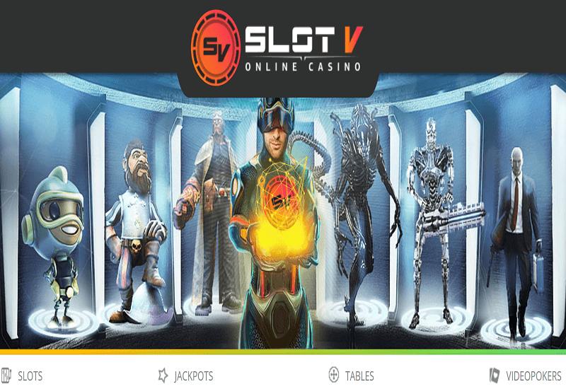 Slot V Casino Home Page