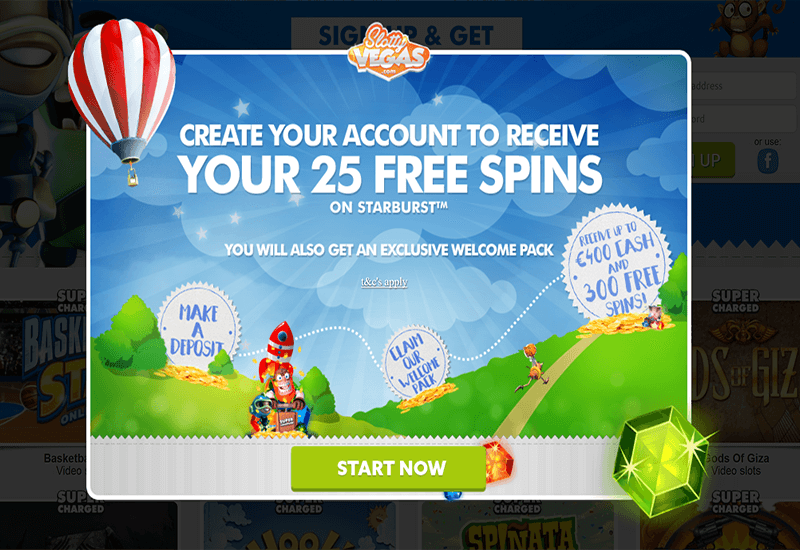 Slotty Vegas Casino Promotions