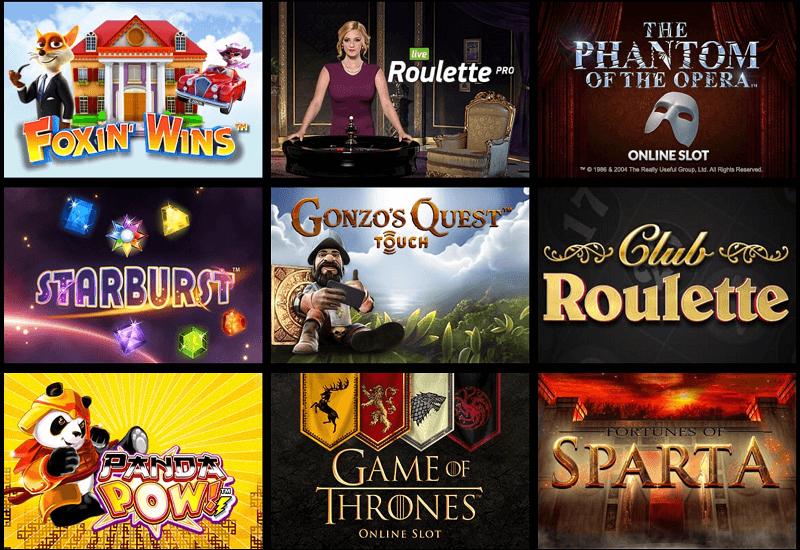 Sparkle Casino Video Slots