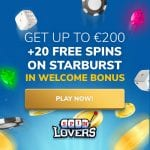Spin Lovers Casino Bonus And  Review  Promotion