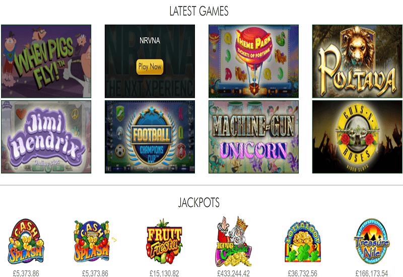 SpinPrive Casino Video Slots
