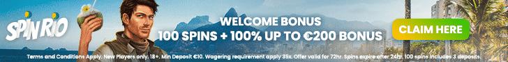 SpinRio Casino Review Bonus