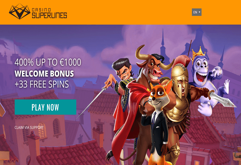 Superlines Casino Promotion