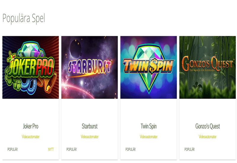 Svedala Casino Video Slots