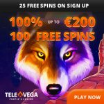 Televega Casino Review Bonus