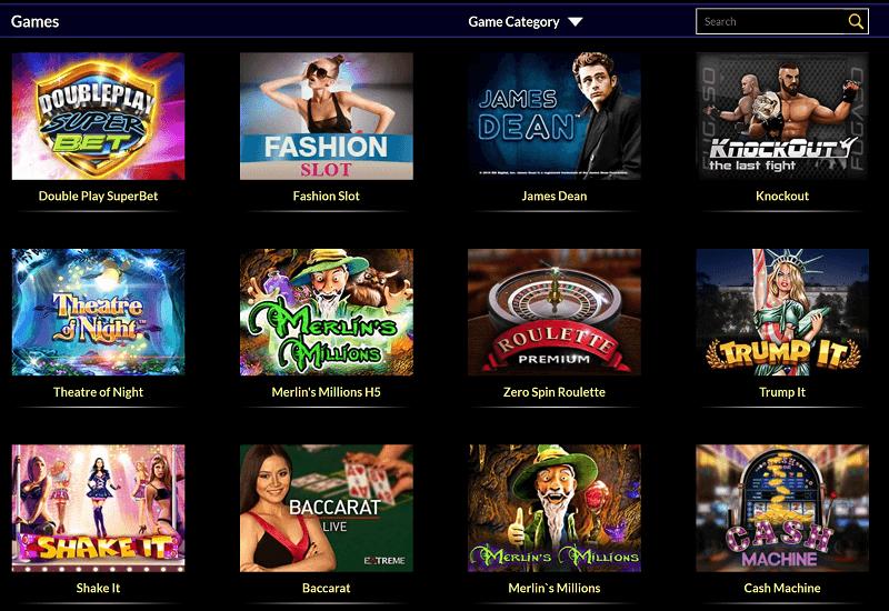 Times Square Casino Video Slots