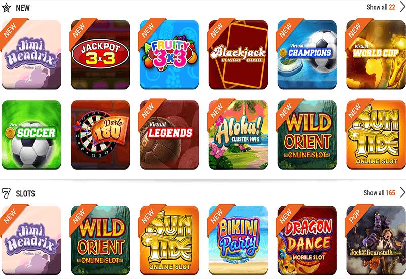 TonyBet Casino Video Slots