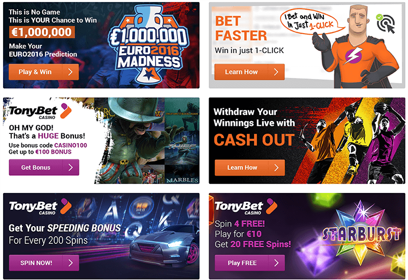 TonyBet Casino Promotion
