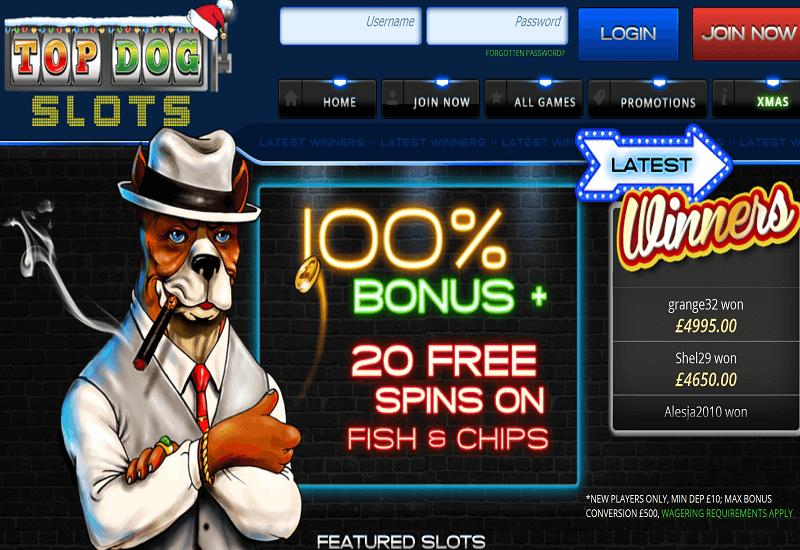 Amazon Slots Casino Home Page