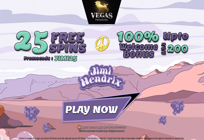 Vegas Paradise Casino Promotions