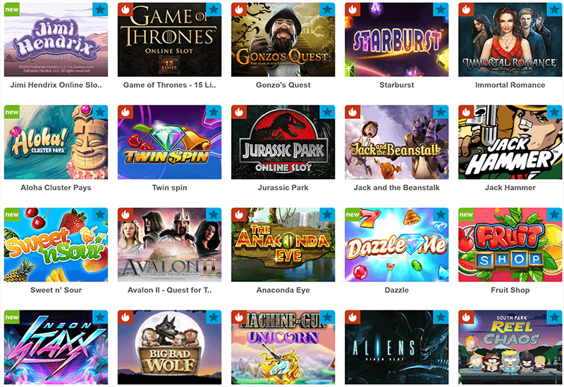 Casino Ventura Video Slots